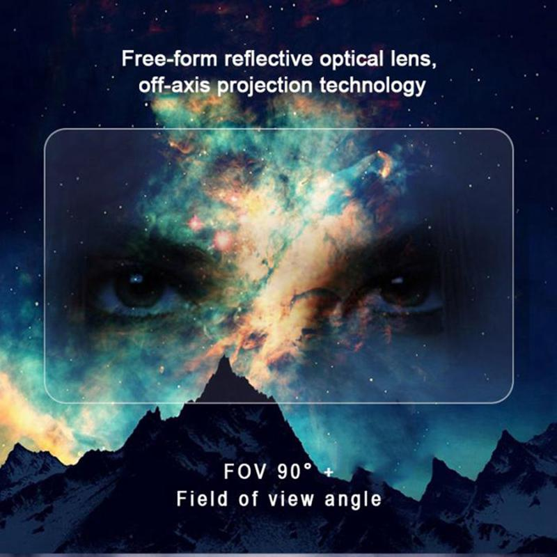 holographic effects smart ar box augmented 3d reality glasses and helmet