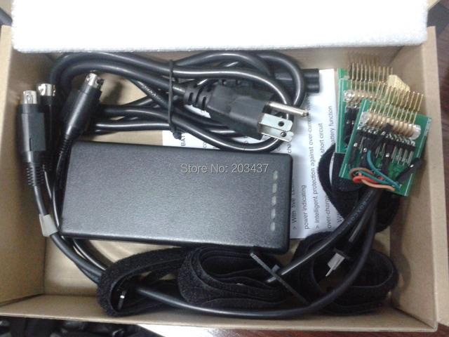 Actualiza universal cargador portátil batería externa con 4 conectores diferentes cables de conexión universales NUEVA LLEGADA!