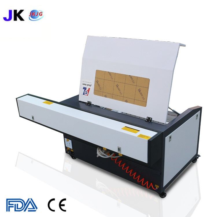 Image 2 - Free shipping CNC laser cutting machine/laser engraver/CO2 laser cutter 4060/6040 for wood plywood engraving machine hot saleWood Routers   -