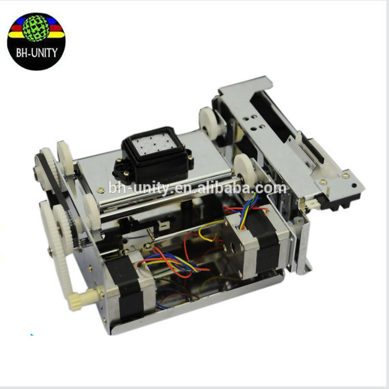 Best price!DX5 single head capping pump assembly dx5 ink stack for zhongye thunderjet human licai titanjet printer part best price dx5 double head ink pump assembly of eco solvent printing machine spare parts on selling