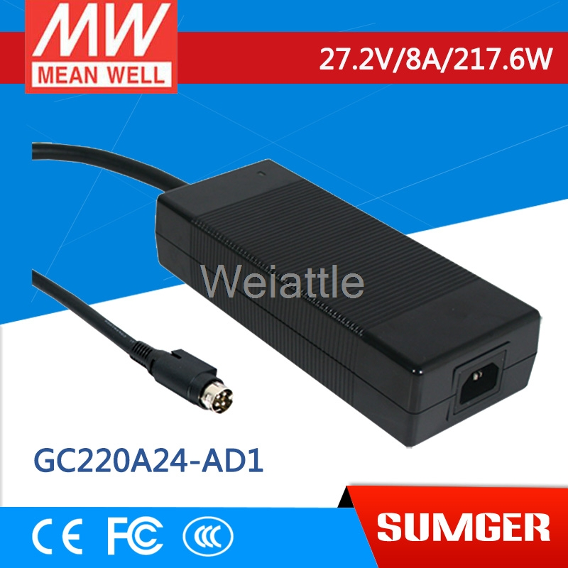 цена на [Cheneng] MEAN WELL original GC220A24-AD1 27.2V 8A meanwell GC220 27.2V 217.6W Single Output Battery Charger