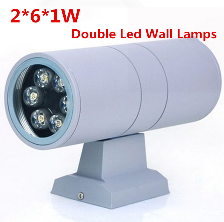 High quality Waterproof IP65 12W led wall lamps garden balcony Double side light source led outdoor lighting wall light