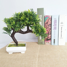 Fake flower decoration small bonsai plants  artificial potted for home and office