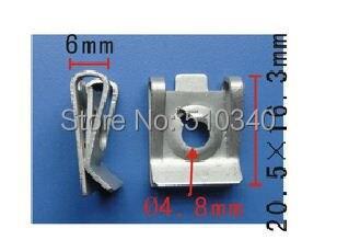 metall license plate screw nut bolt wheel bolt lock
