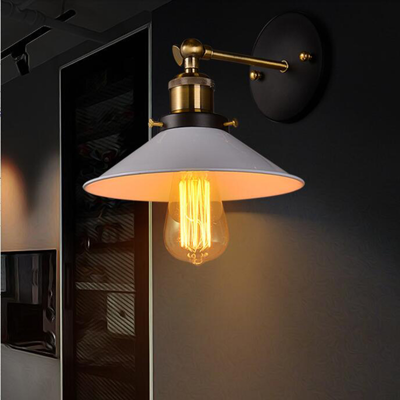 Buy Hot Sale America Style Country Nostalgic Vintage Copper Wall Lamps For Home