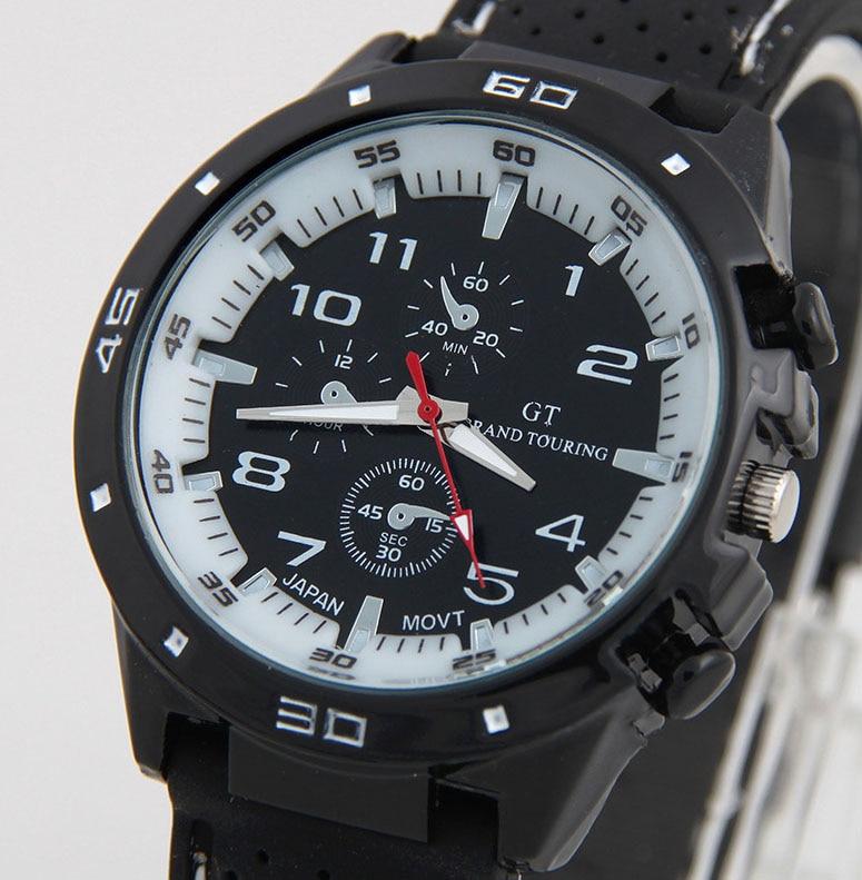 Top Luxury Brand Fashion Military Quartz Watch Men Sports Wristwatches Clock Hour Male Relogio Masculino 8O2