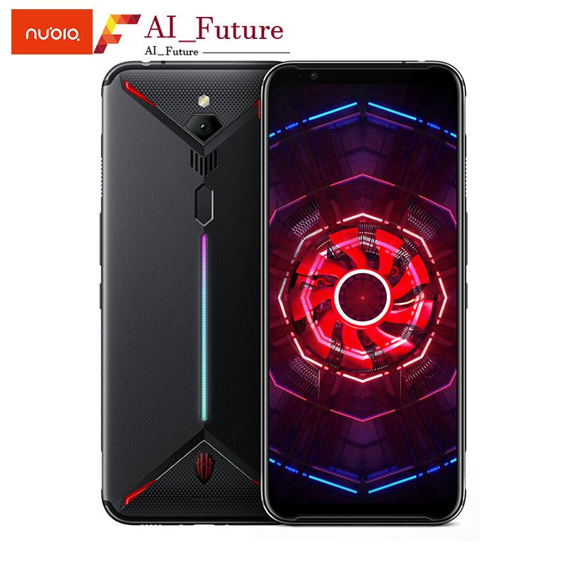 "Global ROM Original ZTE nubia Red Magic 3 6.65""Snapdragon 855 Octa core 6GB 128GB 5000mAh Front 48MP Rear 16MP Game smartPhone"