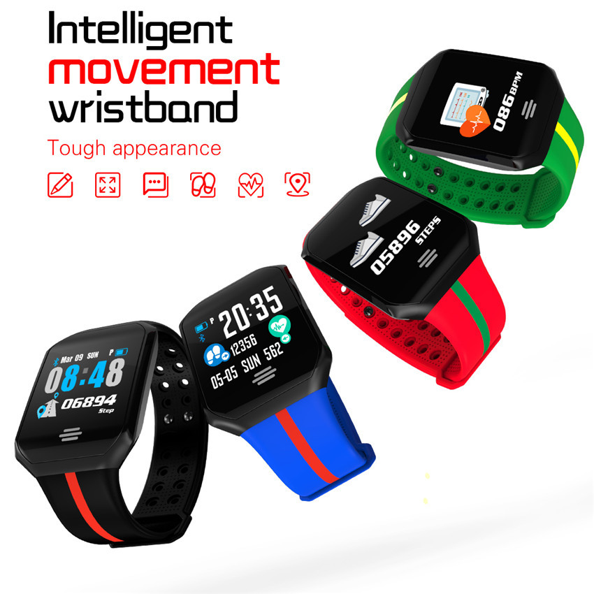 Z66 PLUS Heart Rate Smart Bracelet Blood Pressure Watch Fitness Tracker B07 Sport Smartband IP67 Waterproof for IOS Android in Smart Wristbands from Consumer Electronics