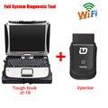 Оригинал WI-FI Vpecker EasyDiag V8.5 + Panasonic CF-19 Ноутбук Универсальный Полный Система Автомобиля Инструментов Диагностики OBD2 Код Читателя