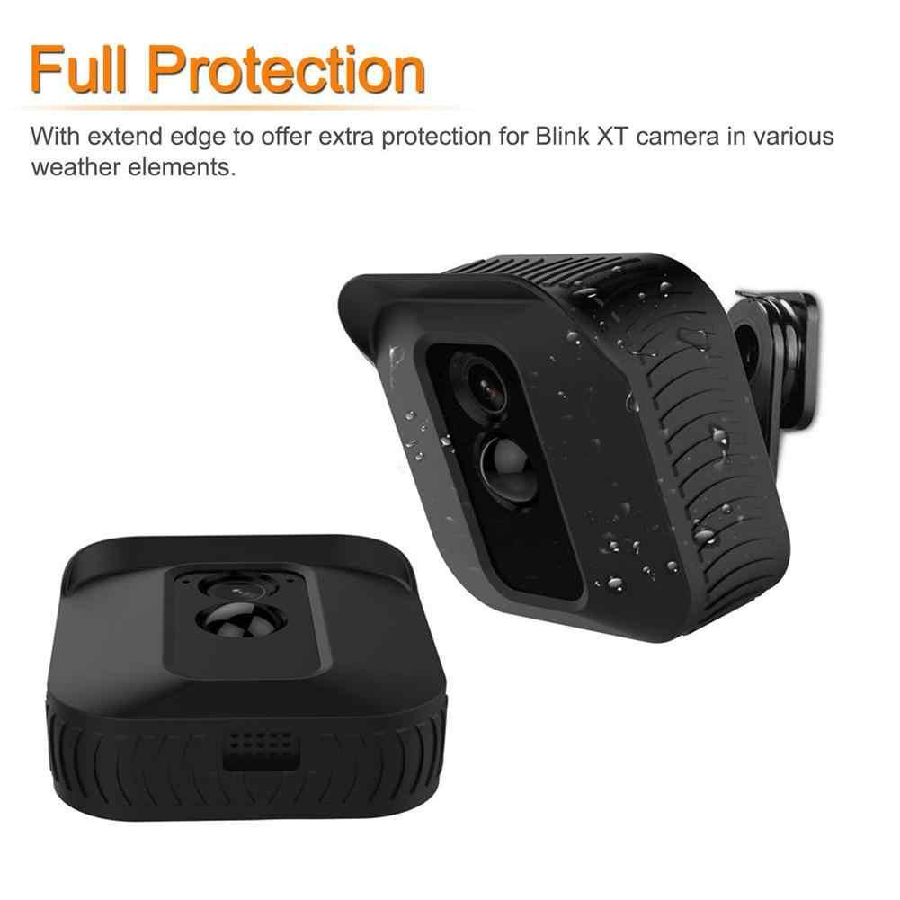 Высококачественный силиконовый кожаный чехол, водонепроницаемый защитный чехол для камеры безопасности Blink XT для использования в помещении и на улице