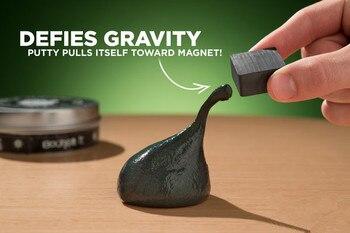 Магический пластилин, магнитное мышление, забавная глупой шпатлевка, магнитная жидкость, грязи, креативная жидкая Магнитная грязевая ручная резинка, подарок, украшение