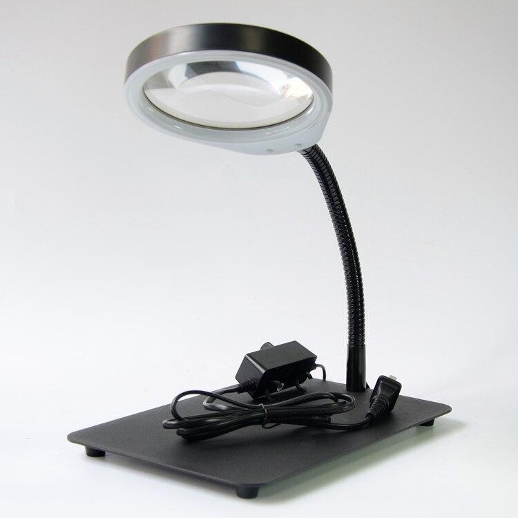 79050bd43b5b6c Cheap Lámpara de aumento LED 10X lupa y lámpara de escritorio de mesa  integridad al por