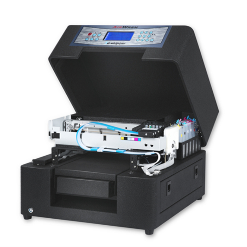High quality a4 size portable eco solvent printer digital plastic id card printing machine for sale