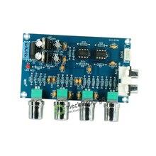 Новинка NE5532 Stereo Pre усилитель предусилитель Tone плата аудио 4 усилитель каналов модуль 4CH схема управления телефонным предусилителем