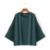 2017 Primavera Mulheres Blusas O Pescoço Japonês-Estilo Pulôver de Manga Comprida Verde/preto Camisas Plus Size Marca Das Senhoras Soltos Tops XZWM3121
