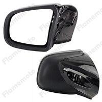 Черный мотоцикл зеркало платных сторона зеркала заднего вида Левый и правый для BMW K1200 LT K1200M 1999 2008 Accesorios Moto определено