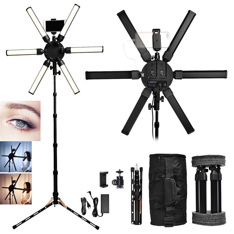 FOSOTO TL 900S plus Photographic lighting 3200 5600K Multimedia Extreme Star Light Lamp Camera Phone Video
