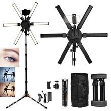 FOSOTO TL-900S plus Photographic lighting 3200-5600K Multimedia Extreme Star Light Lamp Camera Phone Video led Ring Tripod