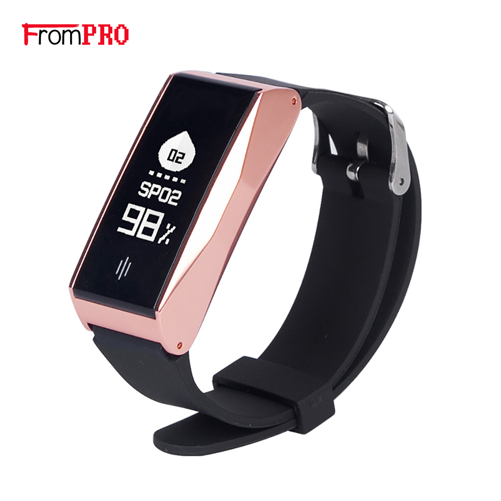 New BL86 smart Bluetooth bracelet heart rate blood pressure monitoring exercise step waterproof bracelet step health