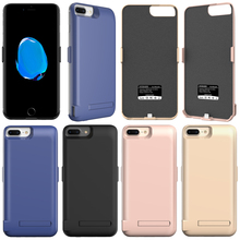 N1 Battery case For iPhone 6 6s 7 Plus 5000/7300 mAh External USB Power bank Charged backup Charger Case gift Cable
