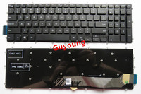 US New Keyboard for Dell Inspiron 15 5565 5567 Gaming 7566 7567 17 5765 5767 laptop keyboard black