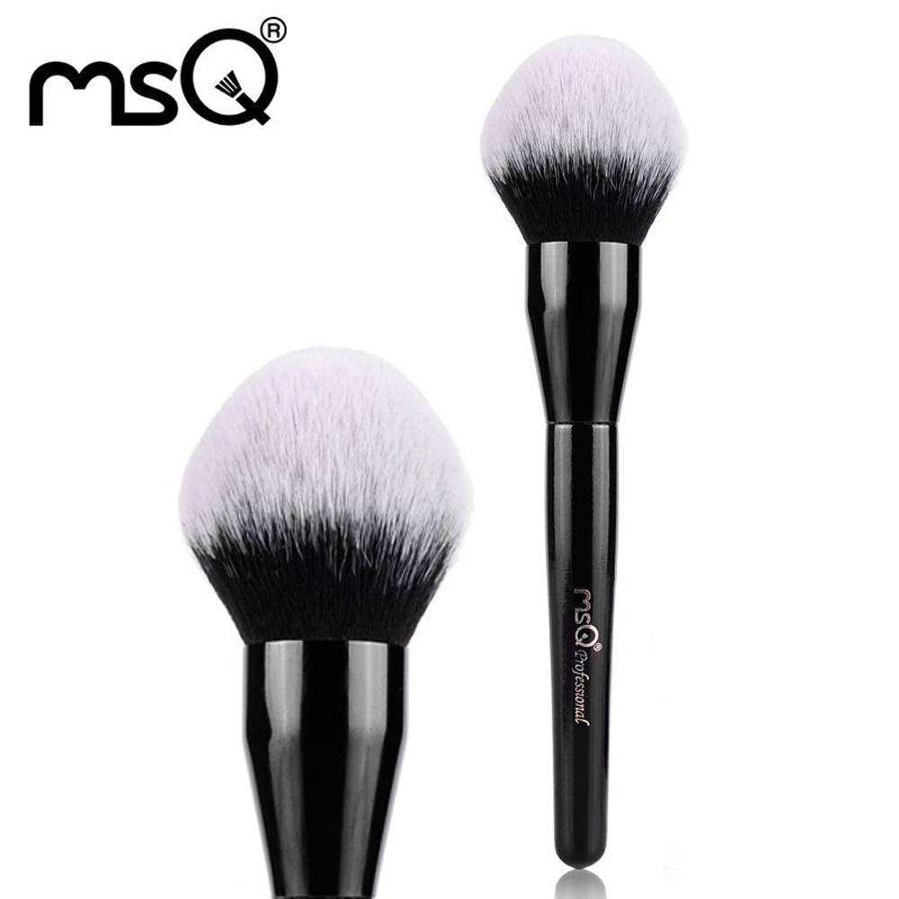 MSQ Single Makeup Brush Beauty Large Powder Make Up Professional Brush High Quality Synthetic Hair For Wholesale Fashion Tool 1pcs pro quality good professional karma optical blurring with original package single big face powder make up brush