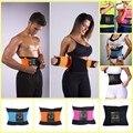 2017 Más Nuevas Mujeres de Los Hombres Deportes Cintura Trainer Entrenamiento Xtreme Power Cinturón Shaper Gimnasio Ajustable Ayuda de La Cintura Deportes Seguridad