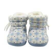 Зимние милые модные ботинки для новорожденных девочек; 3 цвета; милые теплые детские ботинки из кашемира