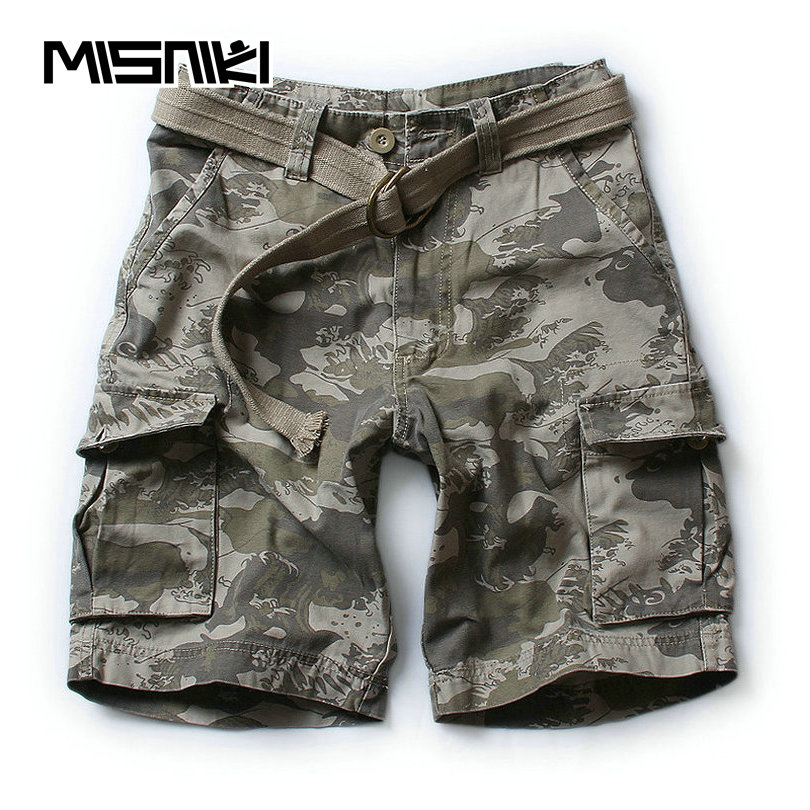2019 New Men Army Military Tactical   Shorts   Casual Multi-Pocket Male Cargo   Shorts   Homme S-XXL drop shipping ABZ199