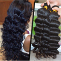 8A Original Brazilian Virgin Hair Deep Wave Remy Human Hair 3 Bundles Soft Ombre Deep Curly Kinky Curly Ombre Spark Hair D101