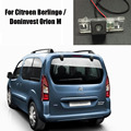 Car Rear View Camera For Citroen Berlingo / Doninvest Orion M / Reverse Camera / License Plate Light OEM / DVD GPS DVR Cam