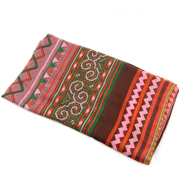Tribal Style Aztec Ornament Scarf