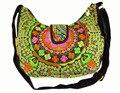 Vintage bolsa de ombro mensageiro de Boho indiano Tribal étnica Hmong bordado, Bolsa de ombro, Sys-422b