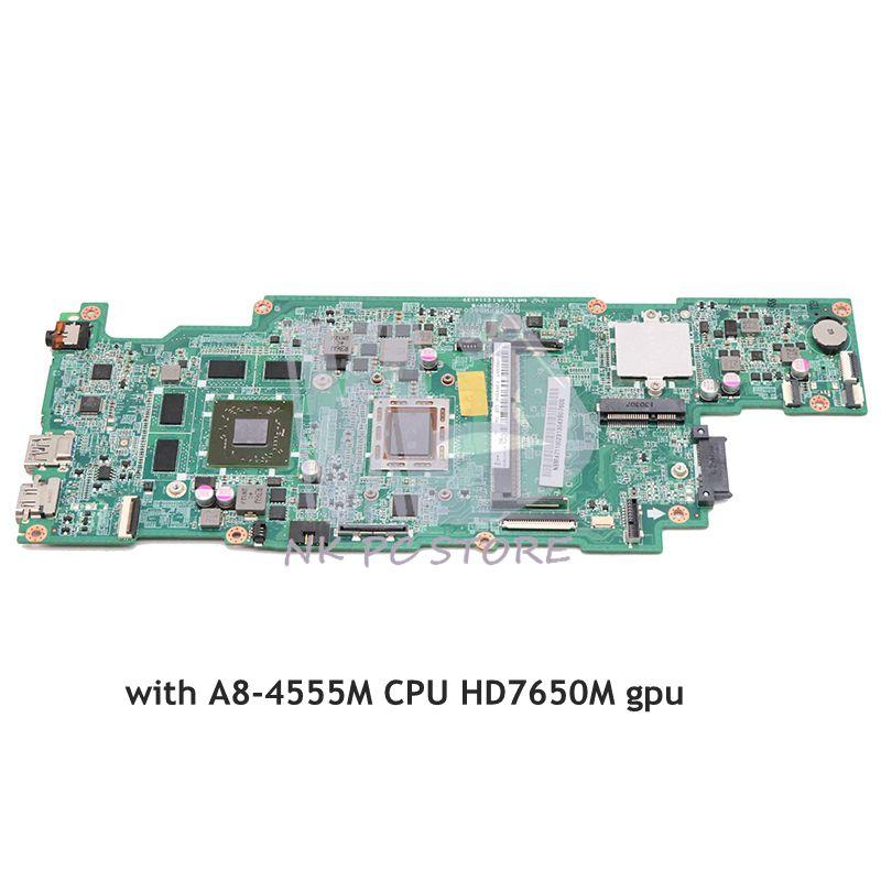 NOKOTION For Acer ASPIRE V5 551 V5 551G laptop motherboard NBM4711002 NB M4711 002 DA0ZRPMB6C0 A8