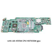 NOKOTION 683600-001 683600-601 для hp Probook 4445 S 4545 S Материнская плата ноутбука 48.4SM01.011 основной гнездо на плату FS1 DDR3