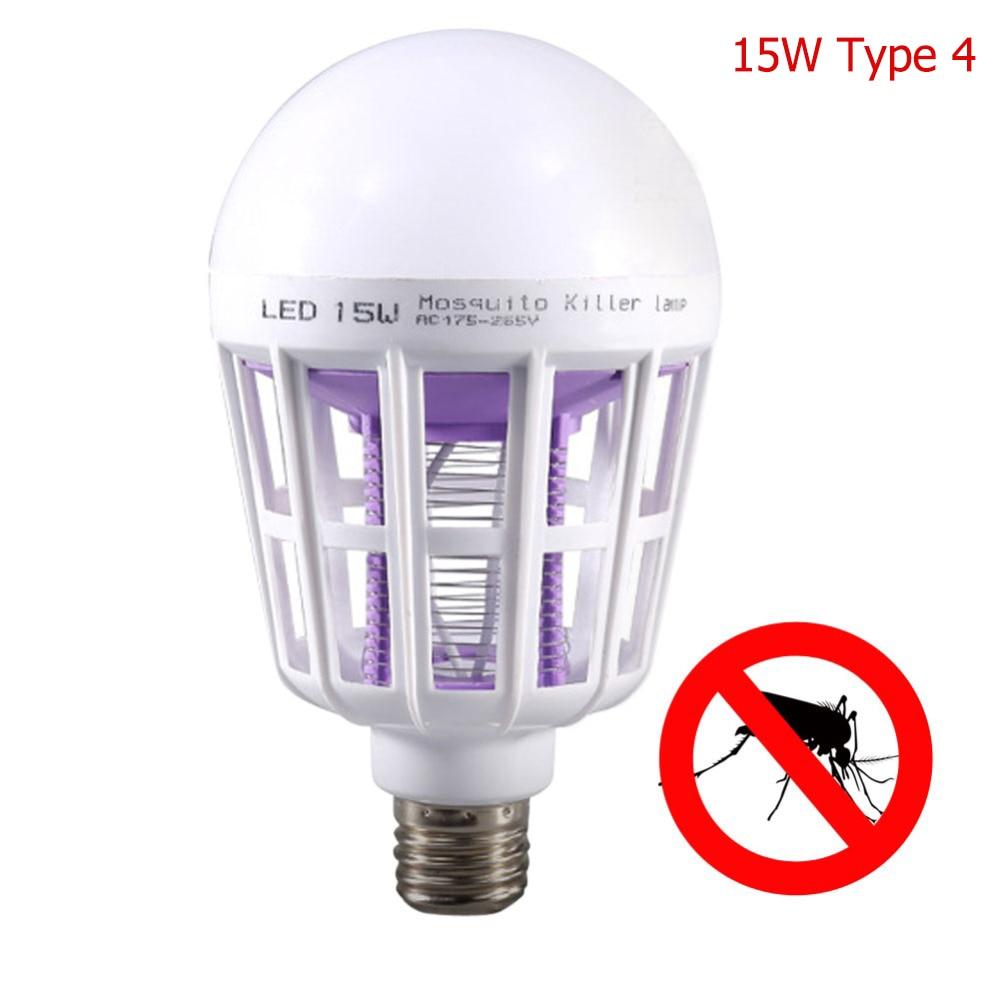 Светодиодный Электрический фонарь от комаров, светильник, Ночной светильник, Анти Москитная Ловушка-Отпугиватель США/ЕС, походный светильник, 8 типов - Цвет: white