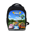 Cartoon Thomas And Friends / Robocar Poli Backpack Children School Bags Boys Girls School Backpacks kindergarten bag Infantil