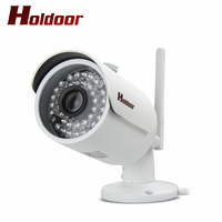 1280 X 720 Video Surveillance IPC Wi Fi IP Camera 720P Network IR Cut Night Vision