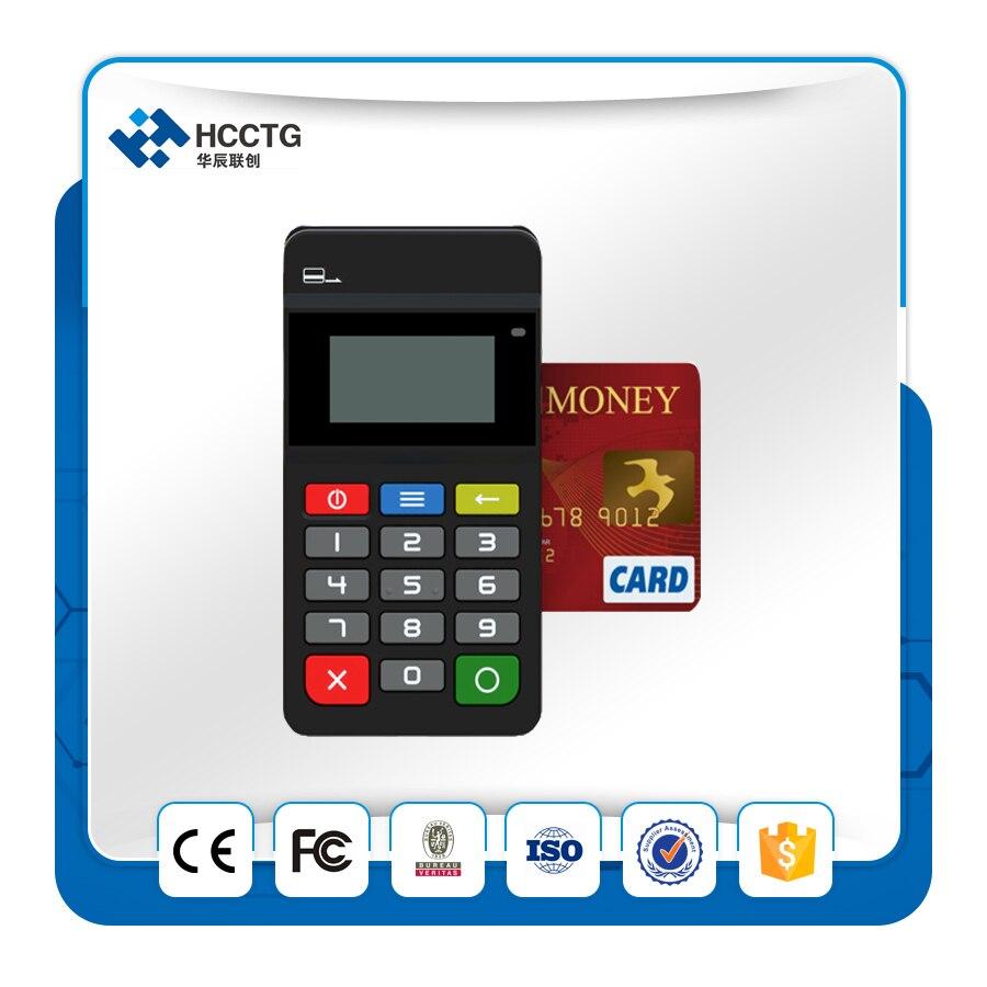 Terminal de paiement Mobile PCI + EMV certifié Bluetooth MPOS avec clavier HTY711 - 2