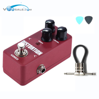 KOKKO FDS2 Mini Distortion Pedal Portable Guitar Effect Pedal High Quality Guitar Parts Accessories
