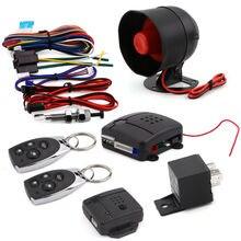 Breakix Centralizado cierre Cierre Centralizado Cierre Centralizado Con Control Remoto de Entrada Sin Llave Sistema de Alarma de Seguridad Auto Kit 1 Sirena