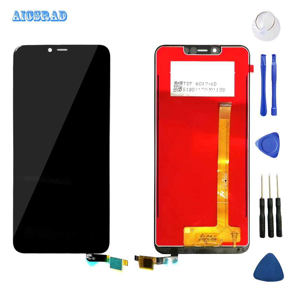 AICSRAD High Quality For wiko view 2 plus LCD Display Touch Screen digitizer Assembly for wiko