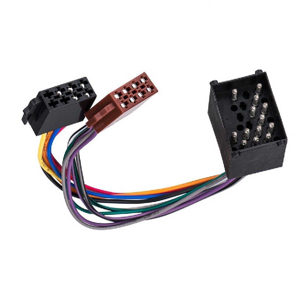 biurlink mini iso harness wire for bmw e36 e46 e39 radio adapter iso plug adapter car [ 1000 x 1000 Pixel ]