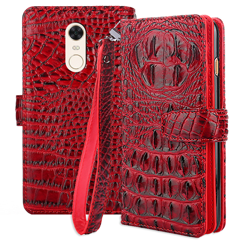 Wallet Phone Case For Xiaomi Redmi 5 plus Cases Cover Original PU Flip 5.99 Inch Case For Xiaomi Redmi NOTE 5 India Edition