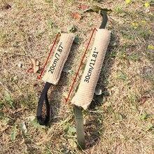 2 размера, прочная игрушка для дрессировки собак, канат для укуса, жевательная игрушка для собак, Интерактивная игрушка для домашних животных, игрушка для чистки, забавная тренировка на открытом воздухе