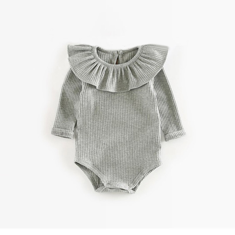 gray girl romper
