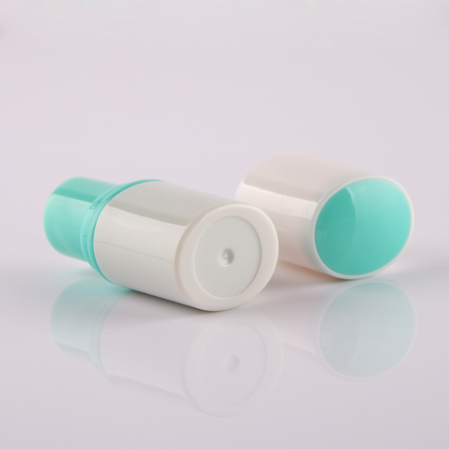 5/50PCS 3.5G Blue Plastic Mini Lip Balm Tube,Empty Round Lipstick Case/Container,12.1MM Cup Size With Matching Blue Lipstick Box