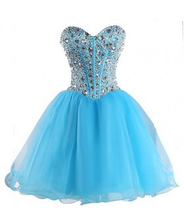 Aliexpress.com : Buy Short Prom Dresses For Teens Sweetheart Tulle ...