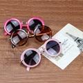 KOTTDO round lovely kids sunglasses girls goggle protective glasses children Eyewear Oculos Infantil Accessories