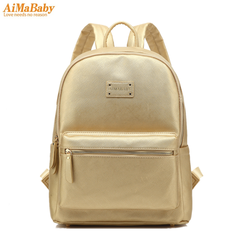 leather backpack baby diaper bag nappy bags maternity mommy changing bag wet infant for babies. Black Bedroom Furniture Sets. Home Design Ideas